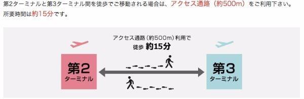 ターミナル間の移動___交通アクセス___成田国際空港第3ターミナル